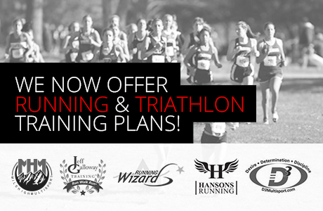 We now offer training plans!